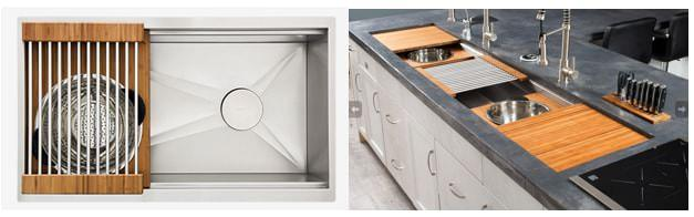 The Galley Ideal Workstation Series - A Size for Every Kitchen