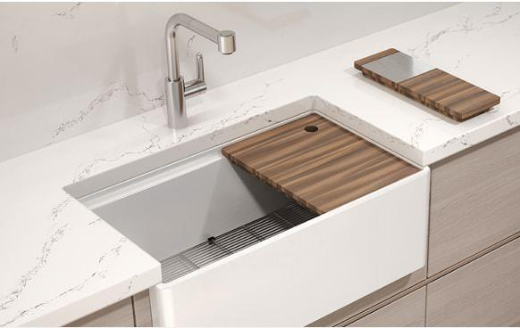 Home Refinements Julien Fira Fireclay Kitchen Sink