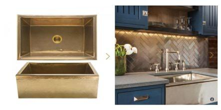 Rocky Mountain Alturas Apron Front Sink