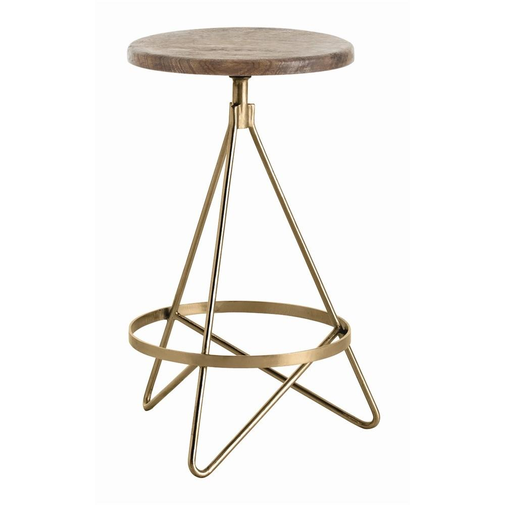 Arteriors Wyndham Swivel Counter Stool
