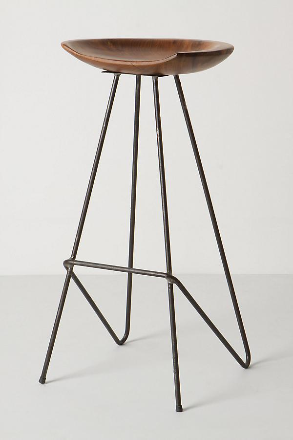 Anthropologie Perch Counter Stool