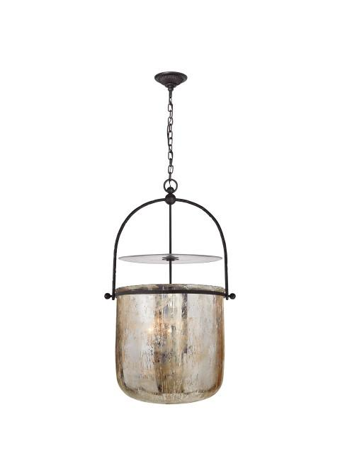 Lorford Smoke Bell Lantern by Visual Comfort from Lumens